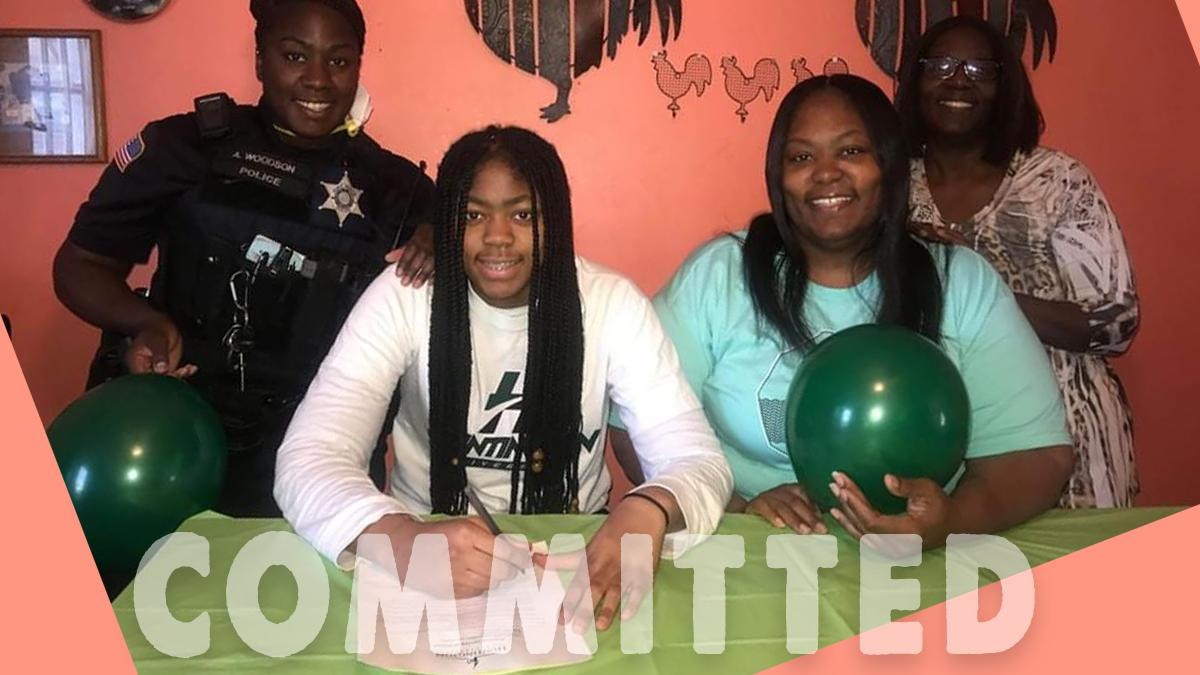 Lady Archer Alaya Chapman headed to Huntington hoops