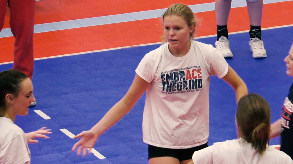 Leo volleyball's Brooke Smith named honorable mention All-America