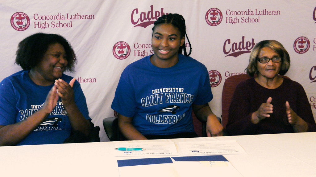 Concordia's Cleasia Craig joining USF volleyball