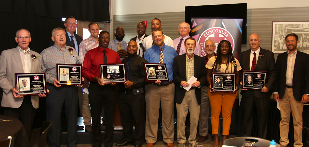 Concordia inducts 1999 state track champs, 5 other individuals into Athletic Hall of Fame