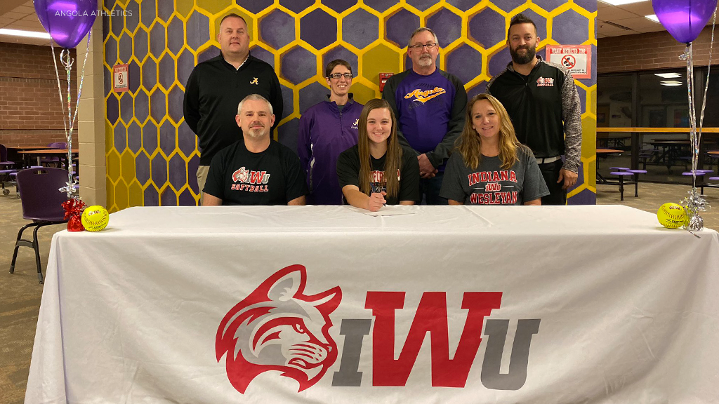 Angola's Cope signs with Indiana Wesleyan softball