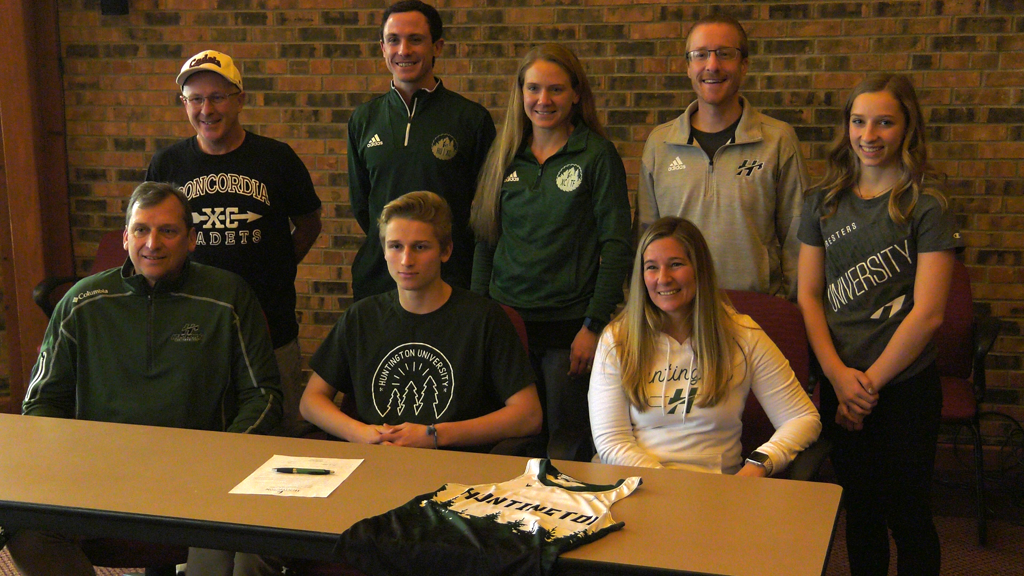 Concordia's Kropf to run at Huntington University