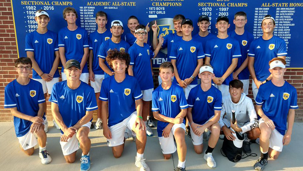 Long-awaited conference title a turning point for East Noble tennis program
