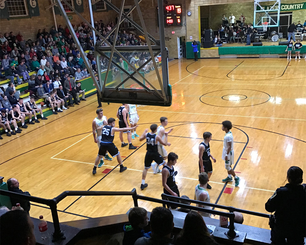 Eastside welcomes back history with basketball game at Old Gym