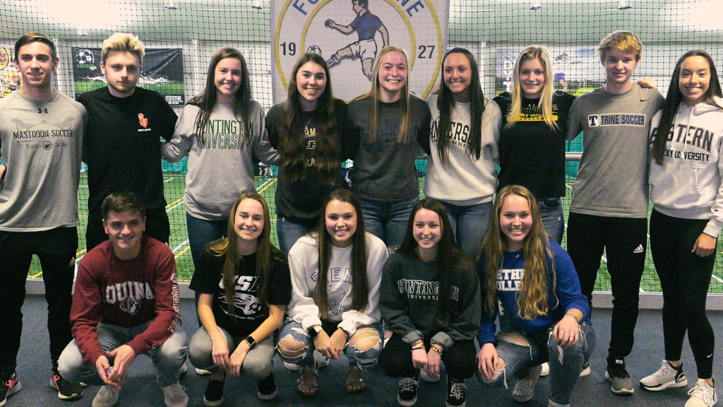 Senior Appreciation Night honors several Fort Wayne Sport Club athletes preparing to play on college pitches