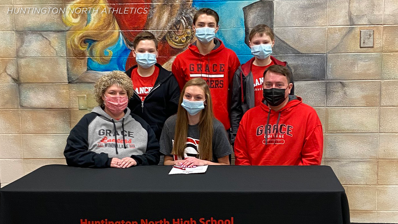 Huntington North's Grace Gross signs to run at Grace College