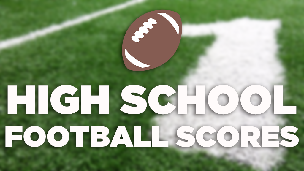 High School Football Scores - October 18, 2019