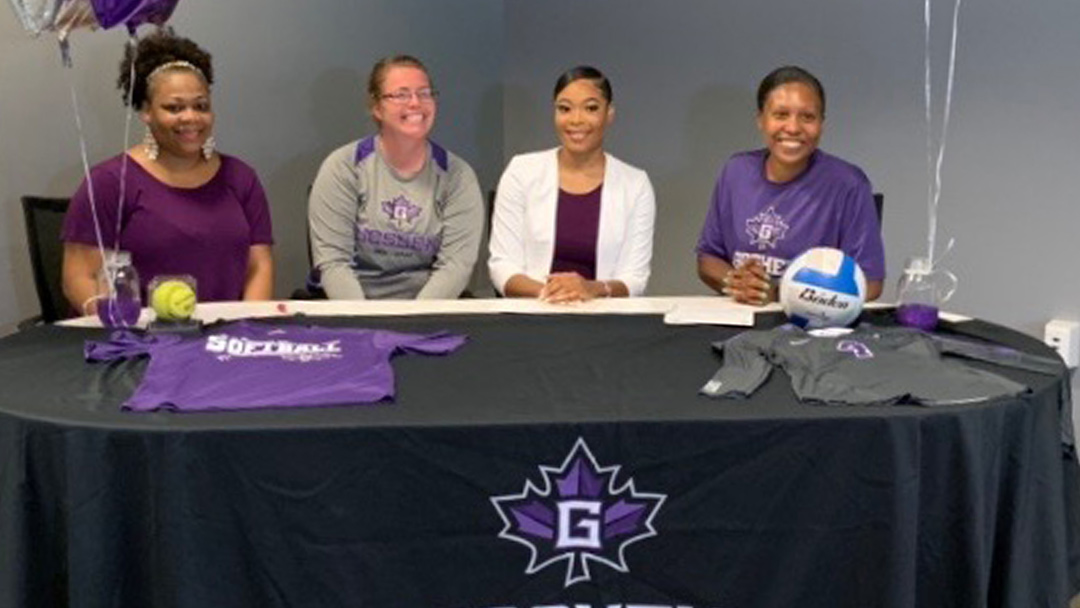 South Side's KiMari Houston signs with Goshen College softball & volleyball