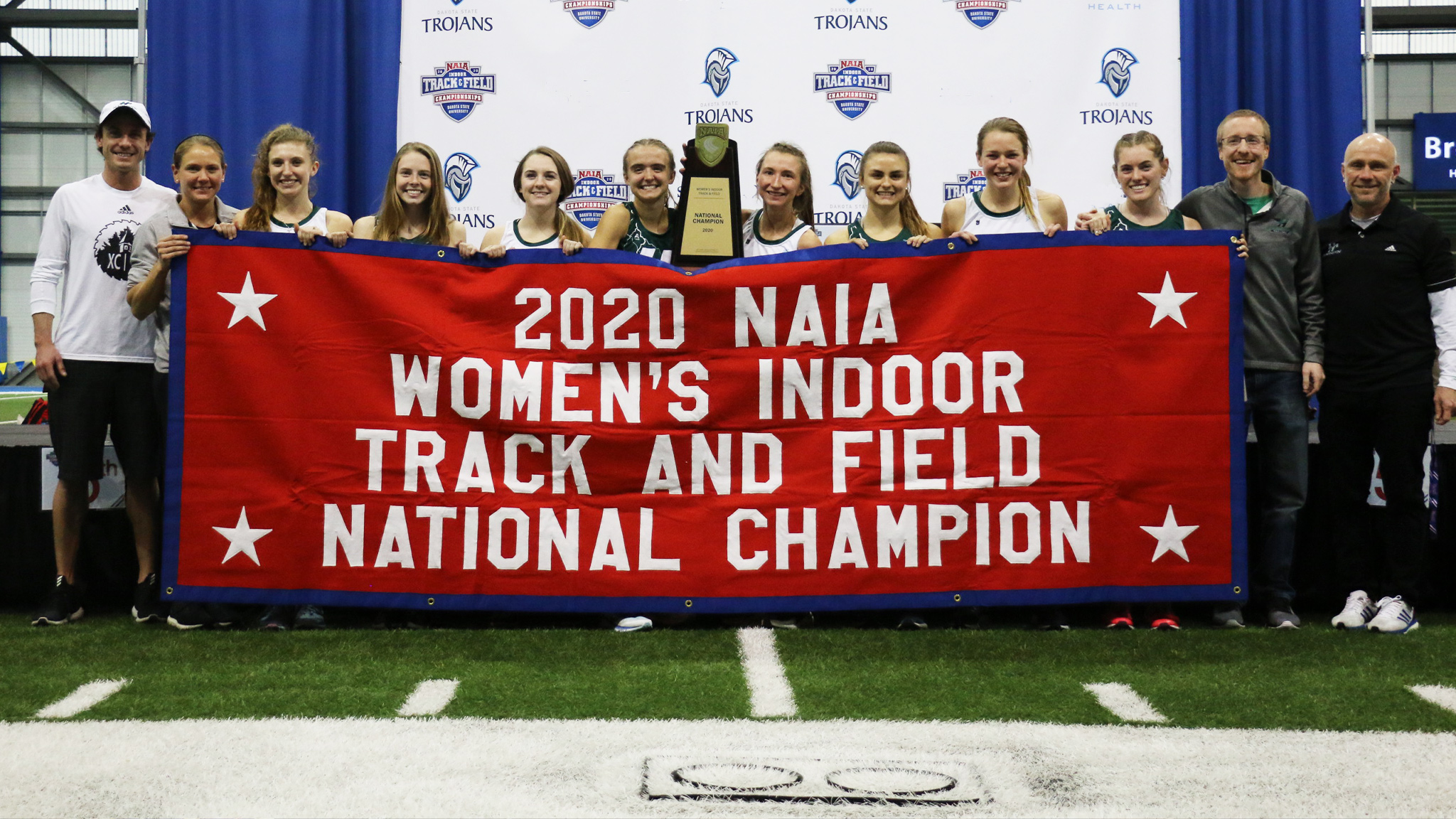 Huntington women's track & field wins NAIA national indoor championship