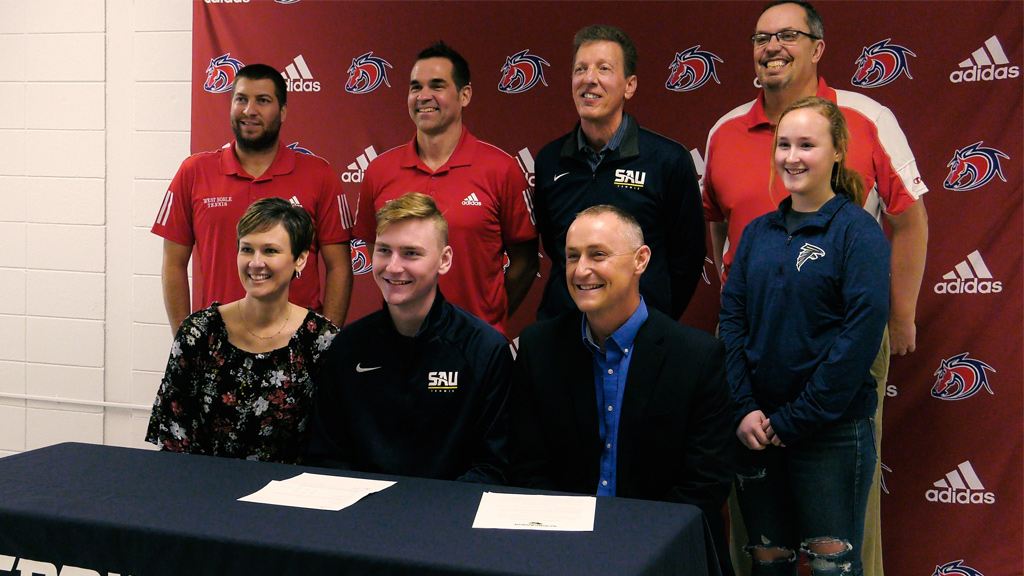 West Noble's Joel Mast signs with Spring Arbor tennis