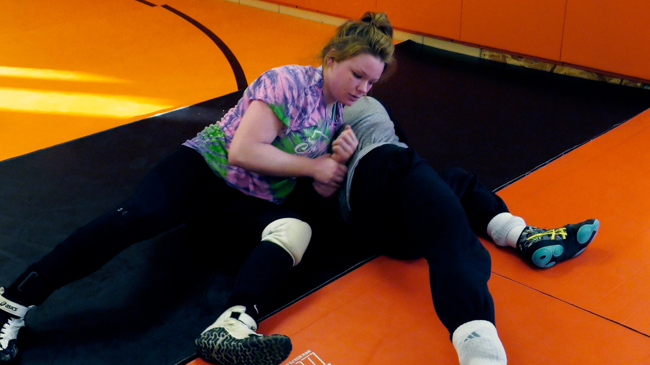 Wabash's Kiersten O'Neill triumphs in girls wrestling