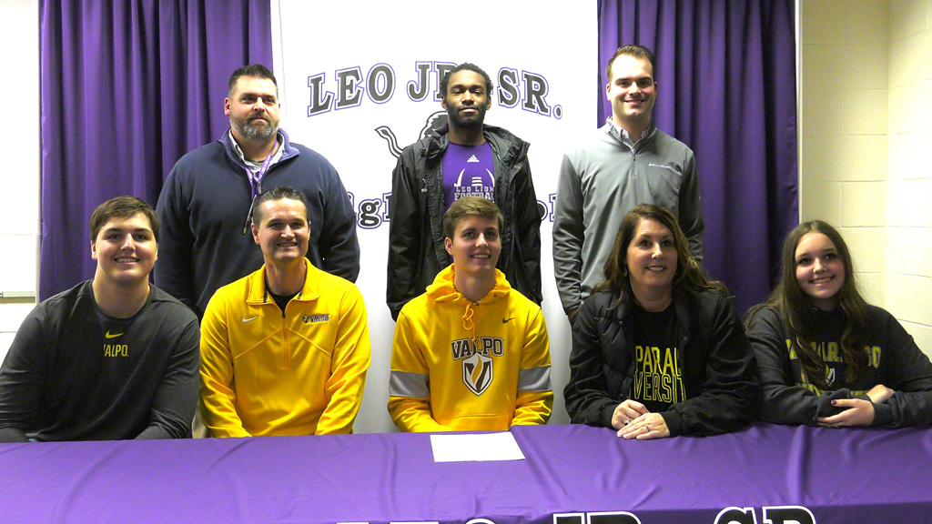 Leo's Livingston signs with Valpo football