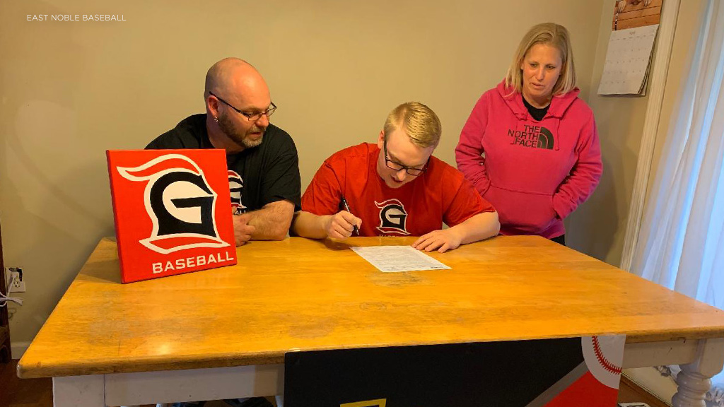 East Noble's McNutt joins Grace College baseball