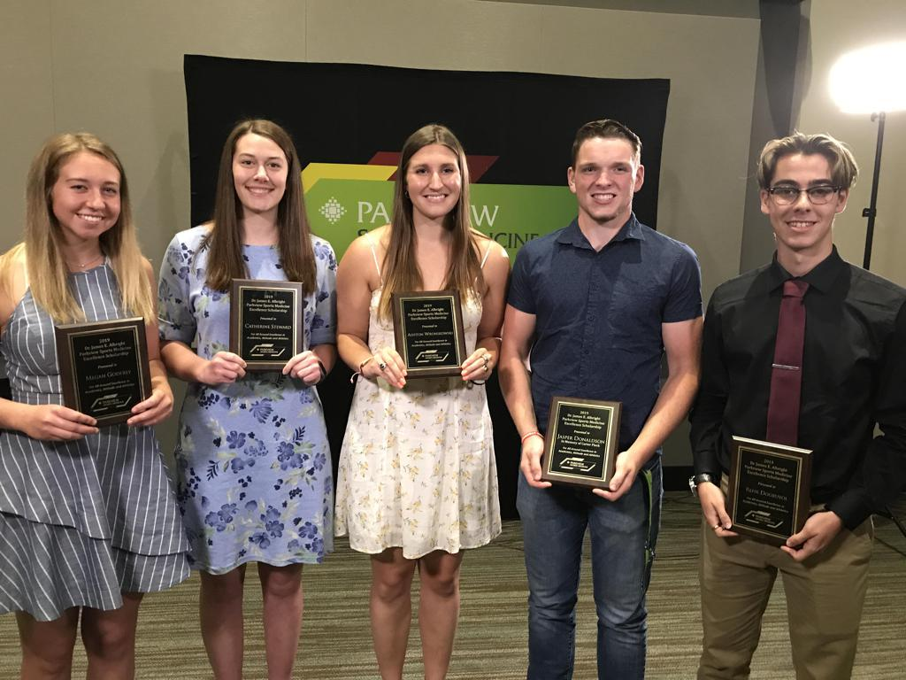 Six graduating student-athletes honored with annual Albright Scholarships