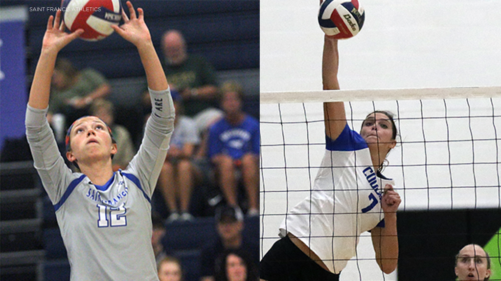 Two USF volleyball players added to NAIA All-America teams
